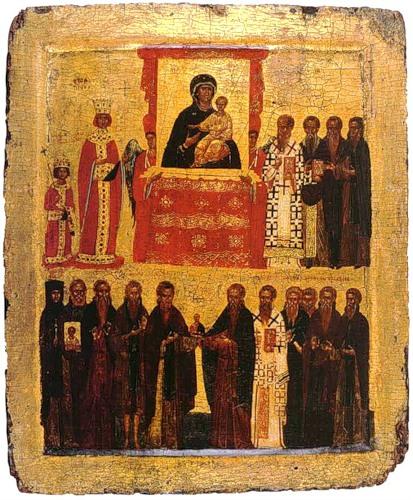 Az Ortodoxia Vasárnapjának ikonja