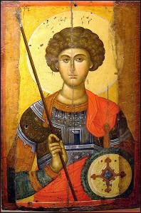Szent György Nagyvértanú (+303 k.)