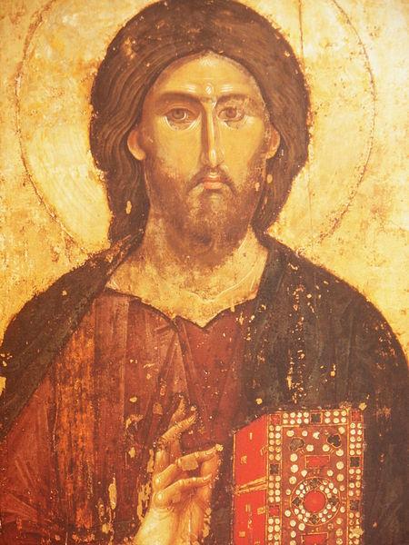 Pantokrátor Krisztus Hilandar