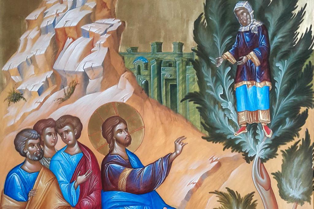 Jézus és Zákeus