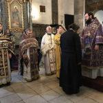 Nagyböjti főpapi szent liturgia a Nagyboldogasszony székesegyházban diakónus szenteléssel