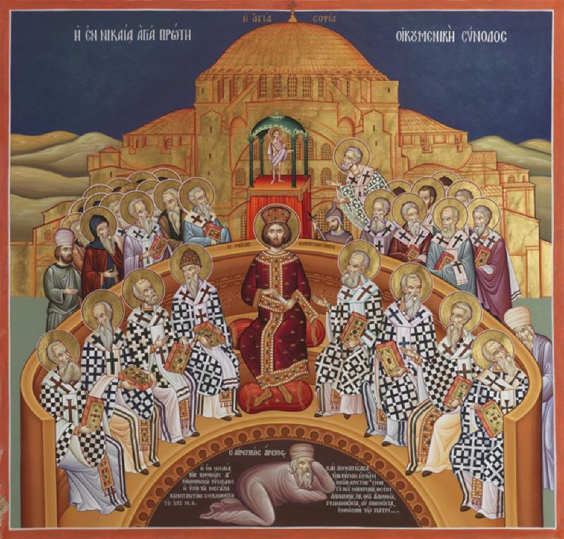Első hat egyetemes zsinat ünnepe
