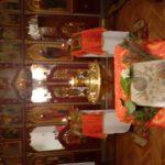 Mennybemenetel ünnepe, esti vecsernye otthoni, családi imádkozásra, éneklésre