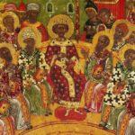 Délelőtti istentisztelet I. Egyetemes zsinat atyáinak vasárnapja, otthoni, családi imádkozásra, éneklésre